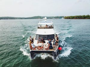 Boat Cruise In Goa