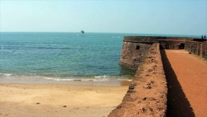 Chapora Fort Near Chapora Beach