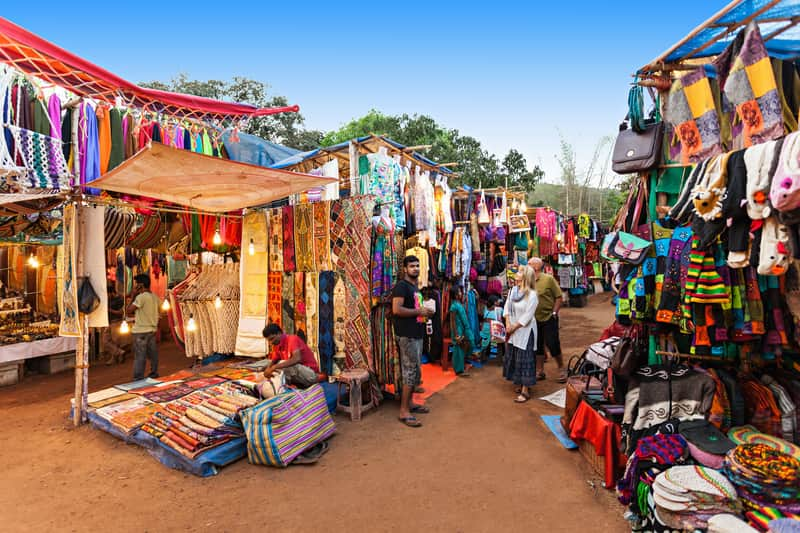 Shopping In Goa Market